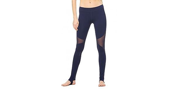 Ufficio Disegno Yoga : Runnow yoga leggings slim skinny stirrup pantaloni mesh patchwork