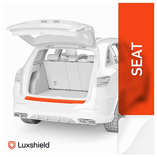 Luxshield Ladekantenschutz Folie inkl. Profi-Rakel - Leon ST 3 (III) 5F Facelift I 2017-2019 - Stoßstangenschutz, Kratzschutz, Lackschutzfolie - Transparent glänzend Selbstklebend