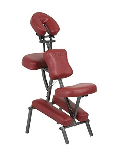 Massagestühle Professional Tragbar Falten Schemel Komfort Dick Schaum Tätowierung Spa Sessel mit Tragen Tasche Rot , black