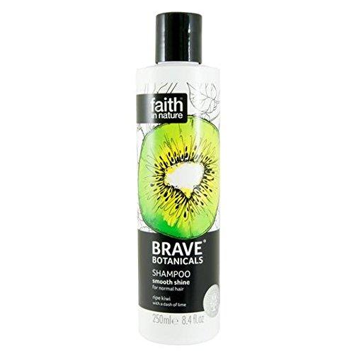 Brave Botanicals Kiwi et citron vert lisse Brillance Shampooing 250 ml
