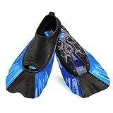 WADEO Flossen Kurz Kinder Trainingsflossen Zum Schwimmen Sport Kinderflossen Wassersport Kurzflossen Freizeit Schwimmtraining