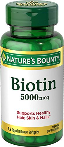 Biotin, 5000 mcg, 60 Softgels