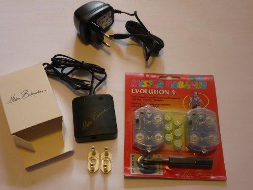 LED SET Mister Babache Evolution Kit Light COLOUR CHANGE + Ladegeräte + UNIVERSALADAPTER (für Circus Diabolos u.a.) Ccu Kit