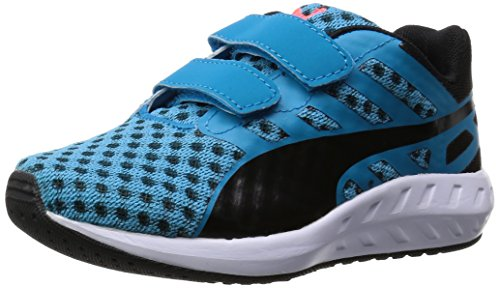 puma-kds-flare-v-blau-schwarz-baby-sneakers-schuhe-neu