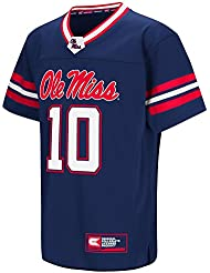 "Mississippi Ole Miss Rebels NCAA ""Hail Mary Pass"" Youth Jeunes Football Jersey Maillot"