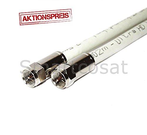 Preisvergleich Produktbild StilBest Koaxialkabel Koax Sat Kabel Antennenkabel F-Stecker 135 db TOP 35m