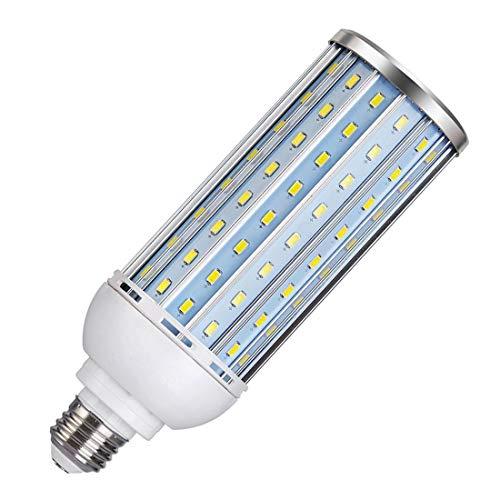 Akaiyal 40W E27 LED Bombilla Studio Lámpara Luz de Maíz 5500K Screw ES Accesorio de Iluminación Cáscara de Aluminio para fotografía Iluminación, Video Lighting, Photo Lighting (1-Pack, No Regulable)