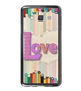 PrintVisa Designer Back Case Cover for Samsung Galaxy A7 (2015) :: Samsung Galaxy A7 Duos (2015) :: Samsung Galaxy A7 A700F A700Fd A700K/A700S/A700L A7000 A7009 A700H A700Yd (black feeling heart purelove missyou)