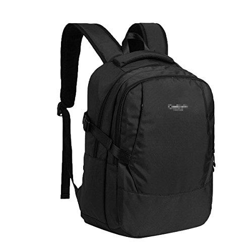 Geschäfts-Rucksack-Laptoptasche Wasserdichte Reise-Gang-Beutelgeschäftsreise-Computer-Tagesrucksack Rot,Black-L