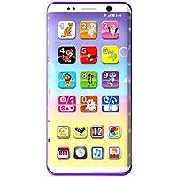 F-blue Teléfono Celular de los niños del bebé del teléfono móvil de Juguete Educativo de Aprendizaje máquina de la música Juguetes electrónicos para Regalo de los niños de los niños