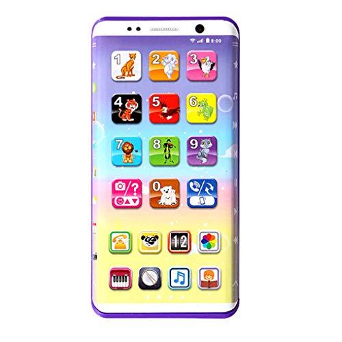 Bébé téléphone Portable Jouet éducatif d'apprentissage Téléphone Portable Music Machine Jouets électroniques pour Les Enfants Enfants Cadeau