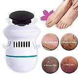 Vakuum Vakuum Elektrische Hornhautentferner mit integriertem Staubsauger und USB für die Grob trockene Haut und Schwielen an Füßen und Händen Wasserdicht Professionell Fußpflege