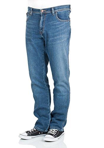 Wrangler Herren Texas Jeans, Stonewash (010), 33W / 30L (Jeans Stonewash Leg)