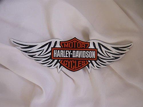 Artículo Se al día siguiente Envío. Harley Davidson aufbügler 29x 8cm se también para coser.Shipping to France and England 4–6días