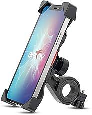 Grefay Support de Vélo Moto Téléphone Guidon de Vélo Moto Berceau Collier avec Rotation 360 pour 3,5 à 6,5 Pou