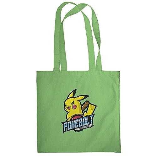 Texlab–Poke Bolt Vermilion 1996–sacchetto di stoffa Verde chiaro