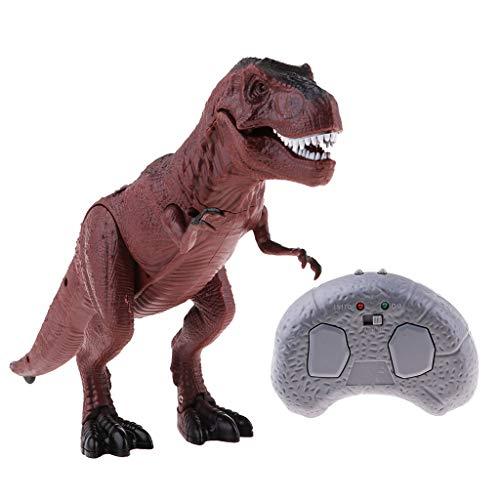 teuerter Dinosaurier Figur mit Sound und Licht Actionfigur Spielzeug Kinder Geschenke - t-Rex ()