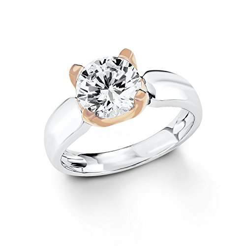 s.Oliver Jewel Damen-Ring 925 Sterling Silber Zirkonia weiß Gr.52 (16.6) 487375