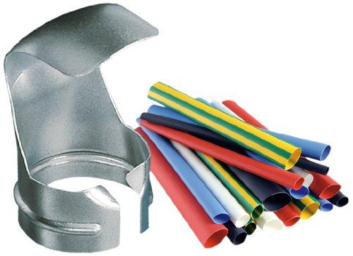 Steinel Schrumpfschlauch-Set, inkl. Reflektordüse und 100x Schrumpfschläuche 1.6 – 9.5 mm, Zubehör, Kabel isolieren