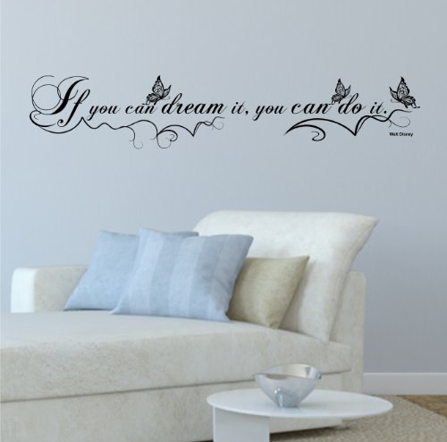 greenluup-sticker-mural-ecologique-avec-citation-papillons-et-fleurs-walt-disney-if-you-can-dream-it