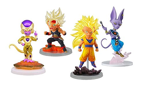 Complete Set 4 Figures Colección Dragon Ball Dragon Ball UG Dragon Ball The Best 01 BANDAI Gashapon
