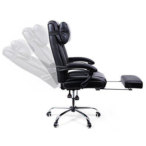 songmics simili cuir obg71b meubles de bureaux. Black Bedroom Furniture Sets. Home Design Ideas