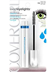 CoverGirl Exact EyeLights Waterproof Mascara, Black Ruby 725 (for Green Eyes), 0.24 Ounce Package