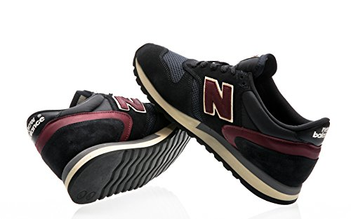 NEW BALANCE M770AEF Sneakers Uomo Made in England Limited Edition NAVY-BURGUNDY AEF navy-red