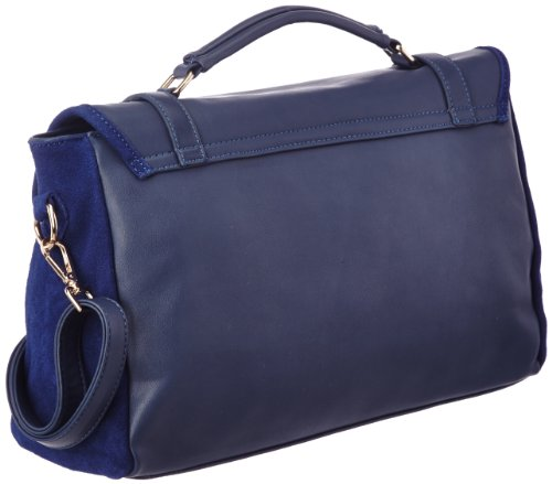 Rue Princesse Parisienne Preppy - Grace M1-ver351, Damen Shopper Blau (navy)