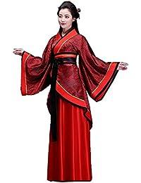 ZENGAI Disfraz antiguo Hembra Traje Tang Han ropa china Formal Ropa de alto rendimiento Ropa de