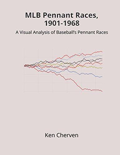 901-1968: A Visual Analysis of Baseball's Pennant Races (MLB Visual Analysis Series) (English Edition) (Mlb Pennant)