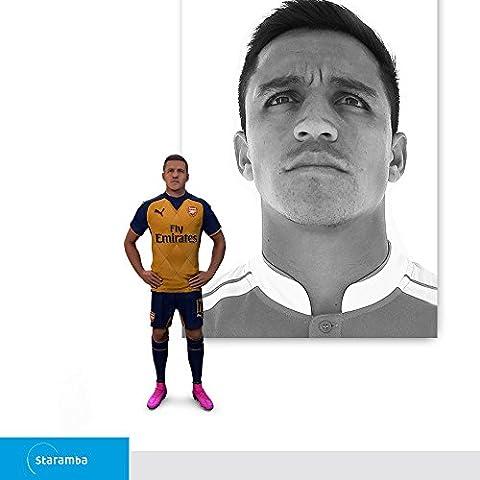 Staramba Alexis Sánchez figurine 3D - FC Arsenal Away 15/16 1:20 (8.40 cm)