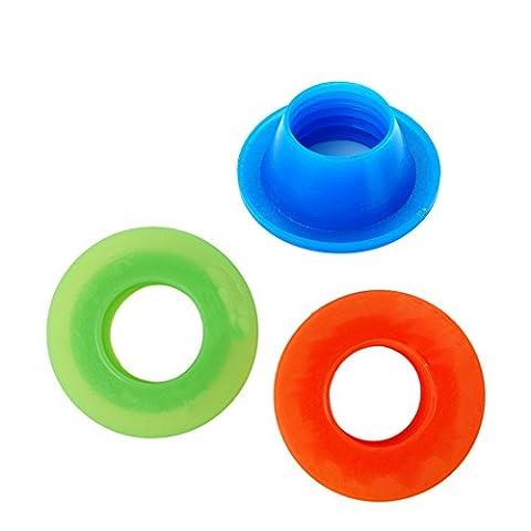 SZTARA 3pcs Pest Control Anti-odor Sealing Ring Plug Sewer Pipe