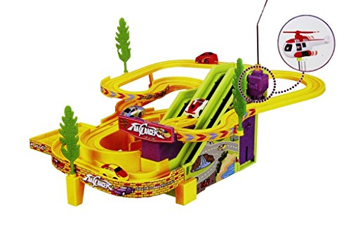 Shopaholic Track Racer Racing Car Set, Multi Color