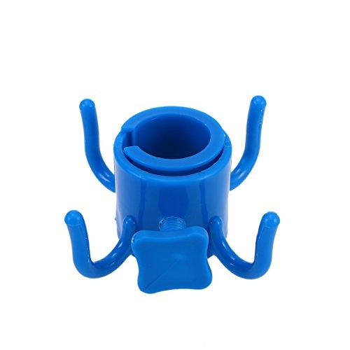 Toymytoy plastica ombrellone da spiaggia gancio a sospensione per appendere asciugamani fotocamera occhiali da sole borse (blu)