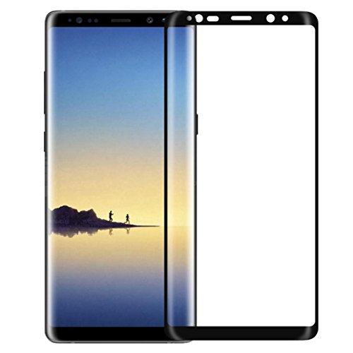 Preisvergleich Produktbild NILLKIN® Tempered Glass Display Schutz von Samsung Galaxy Note 8, 3D CP + MAX Full Coverage AGC Glas 9H 4 Ebenen Advanced Glas Film für Samsung Galaxy Note 8, Schwarz, Fulltime