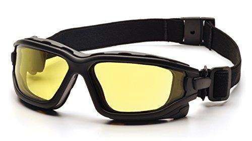 Pyramex I-Force Schlank Sportlich Dual-Fenster Anti-Fog -Objektiv -Schutzbrille (gelb)