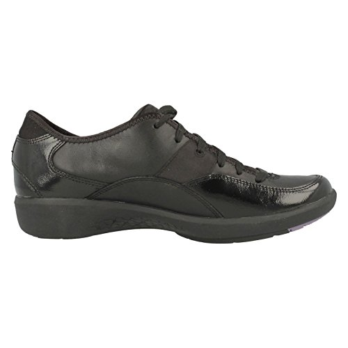 Modelo Clarks Incendiar E Derby Sapatos Baixos Derby Preta Sapatos Sapatos Marca Clark Cor Onda 8fwTFfnqS