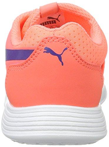 Puma St Trainer Evo Ac Ps, Sneakers Basses Mixte Enfant Orange (Nrgy Peach-prism Violet)