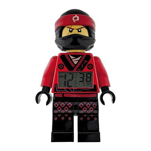 LEGO–Despertador Lego Ninjago Movie kai–rojo y negro