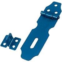 sourcingmap® Gates Lucchetto per armadietti, colore: blu Metal-Cerniera per porta