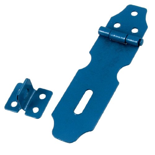 SOURCING MAP Azul Metal huecos de puertas candado de pestillo de puert