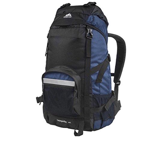 spalla sacchetto di alpinismo Polar zaino esterno maschile viaggi femminile ultraleggero escursioni e viaggi di piacere 50L grande capacità impermeabile blu reale