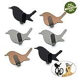 Morbuy Süß Haken Selbstklebend Wandhaken, 6 Stück 304 Edelstahl Wasserdicht Handtuchhaken Haken Klebehaken Aufkleben Kleiderhaken für Küchen Badezimmer Toilettenschränke (Mischen)