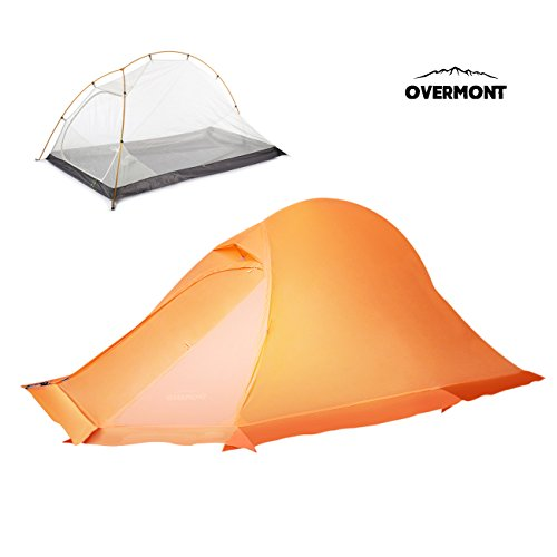 Tienda ligera impermeable Overmont
