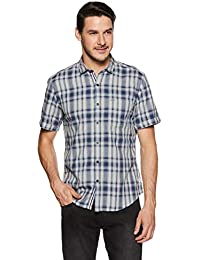 Indigo Nation Street Men's Checkered Slim Fit Casual Shirt
