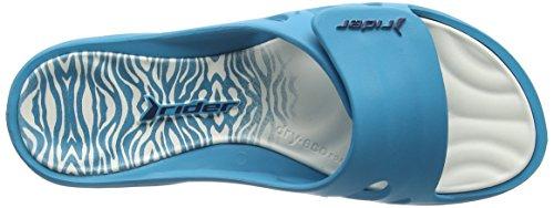 Rider - Key Viii Fem Ff, Sandali Donna Multicolore (Mehrfarbig (blue white 8382))