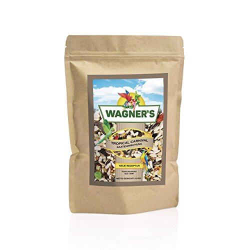 Wagner's | Papageienfutter Tropical Carnival - 2,5 kg -