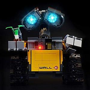 BRIKSMAX Kit di Illuminazione a LED per Lego Ideas Wall E, Compatibile con Il Modello Lego 21303 Mattoncini da… 0767912927824 LEGO