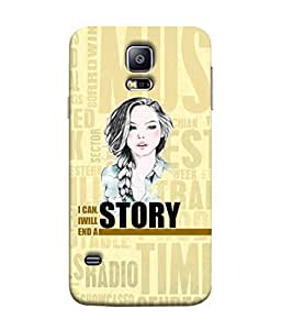 FUSON Designer Back Case Cover for Samsung Galaxy S5 :: Samsung Galaxy S5 G900I :: Samsung Galaxy S5 G900A G900F G900I G900M G900T G900W8 G900K (Illustration Inspiration Change Motivate )